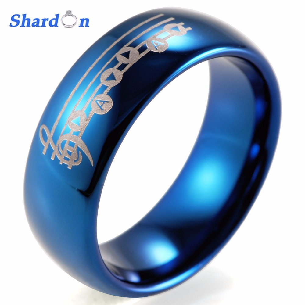 SHARDON Wedding and engagement jewelry Tungsten wedding bands Lovers' Engagement ring for free shipping Engagement ring merdia 1157 22 x smd 1206 led blue light car brake backup light 2 pcs