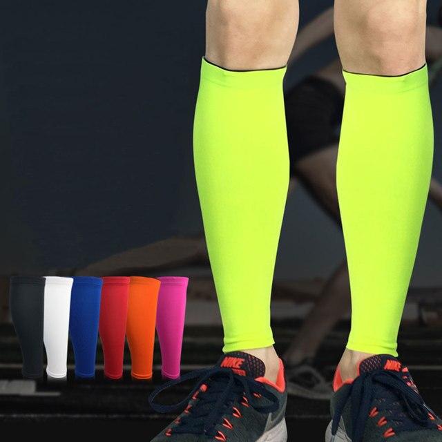 Albreda men & women camada base de compressão manga perna ciclismo aquecedores de perna correndo futebol basquete esportes bezerro apoio 7 cor 2