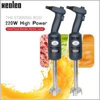 XEOLEO коммерческий Погружной блендер портативный ручной блендер с венчиком 350 Вт ручной пищевой блендер Электрический соковыжималка шпатель