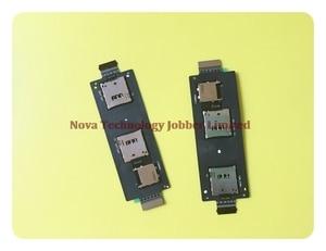 Wyieno ZE550ML держатели для карт памяти SD для Asus Zenfone 2 ZE551ML держатель слота для sim-карты гибкий кабель + отслеживание