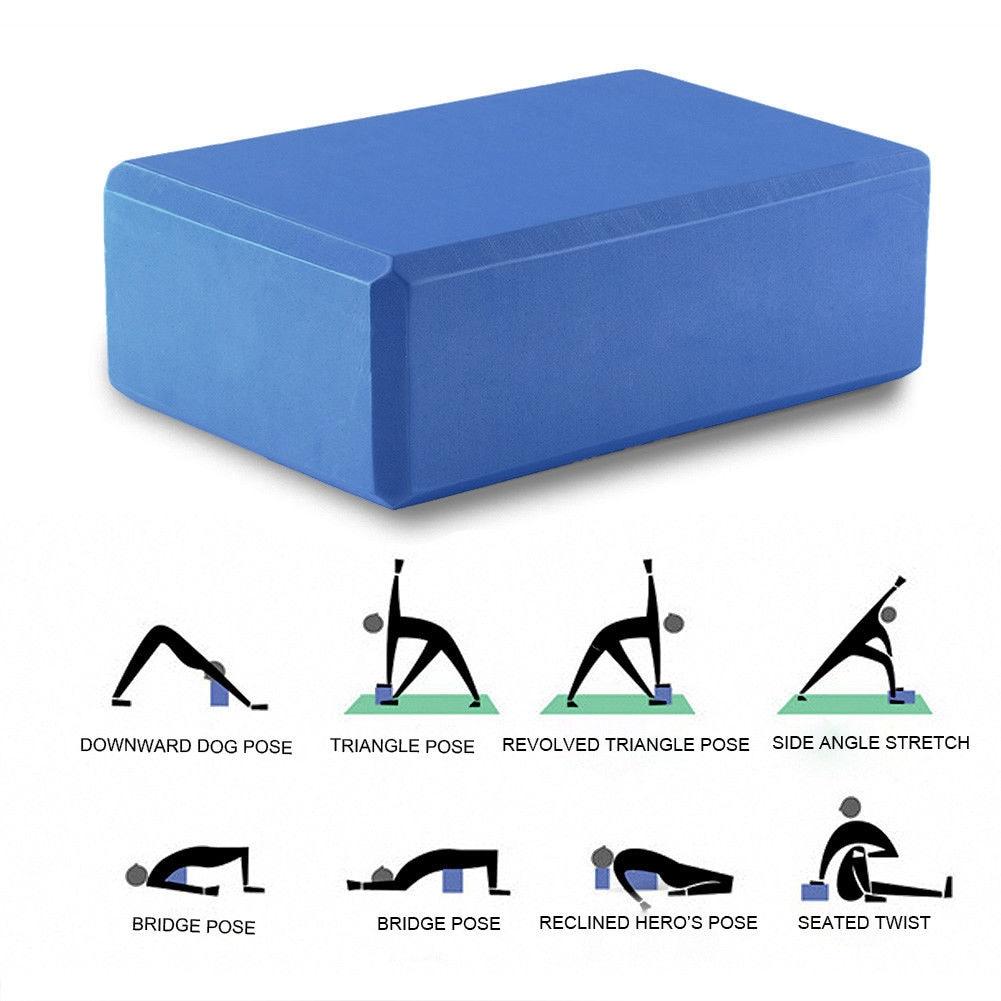 Yoga Foam Block Exercise Fitness Sport Yoga Props Foam Brick Stretching Aid Gym Workout Stretching Aid Body Health Training