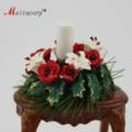 Details about   Dollhouse 1:12 Scale Miniature flower Candle wreath Romantic 10155