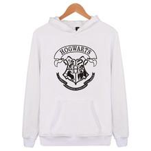 ハリーポッターホグワーツハーマイオニー印刷プラスベルベットヘッドフード付きsweatershirt