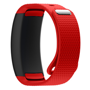 Image 4 - Watch band 2017 Luxury sport Silicone Watch Replacement wrist Band bracelet Strap For Samsung Gear Fit 2 SM R360 watch Wristband