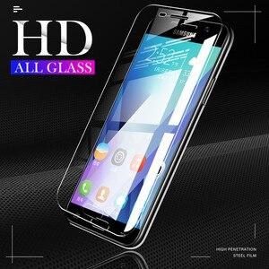 H & A 3 قطعة زجاج واقي لسامسونج غالاكسي J4 J6 A6 A8 زائد 2018 A7 A9 2018 واقي للشاشة 9H 2.5D الزجاج المقسى J6 A7 2018