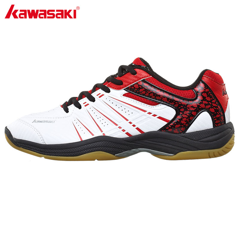 Kawasaki profissional badminton sapatos 2017 respirável anti-escorregadio esporte sapatos para homem mulher tênis K-063