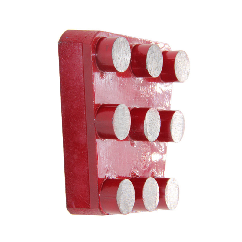 RIJILEI 10PCS/Set Diamond Frankfurt Metal Grinding Brick for Marble Artificial Stone Diamond grinding disk for concrete YG19