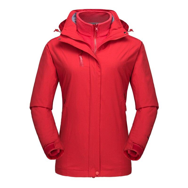 Nouveau extérieur 3 en 1 randonnée Softshell vestes femmes respirant polaire manteaux filles Trekking vêtements randonnée chasse escalade veste