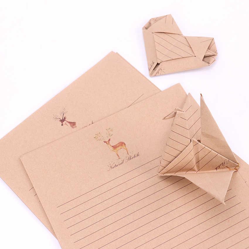 10 แผ่น/ชุดตัวอักษรใหม่Pad Vintage Vintageสไตล์การเขียนกระดาษคุณภาพดีวัฒนธรรมสำนักงานเครื่องเขียน