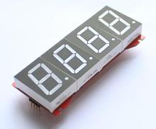 Бесплатная Доставка! 5 шт. 1 дюймов общий анод 4-битный цифровой пробки дисплей модуль статической стоянке
