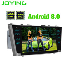 JOYING 2 din Android 8.0 Car DVD GPS radio 4GB RAM Octa Core HD Stereo touch screen Bluetooth for Toyota Camry/Aurion 2007-2011