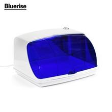 UV Sterilizer Professional Nail Art Disinfection & Clean Nail Art Equipment Tray Temperature Sterilizer Tool 220V EU Plug C018