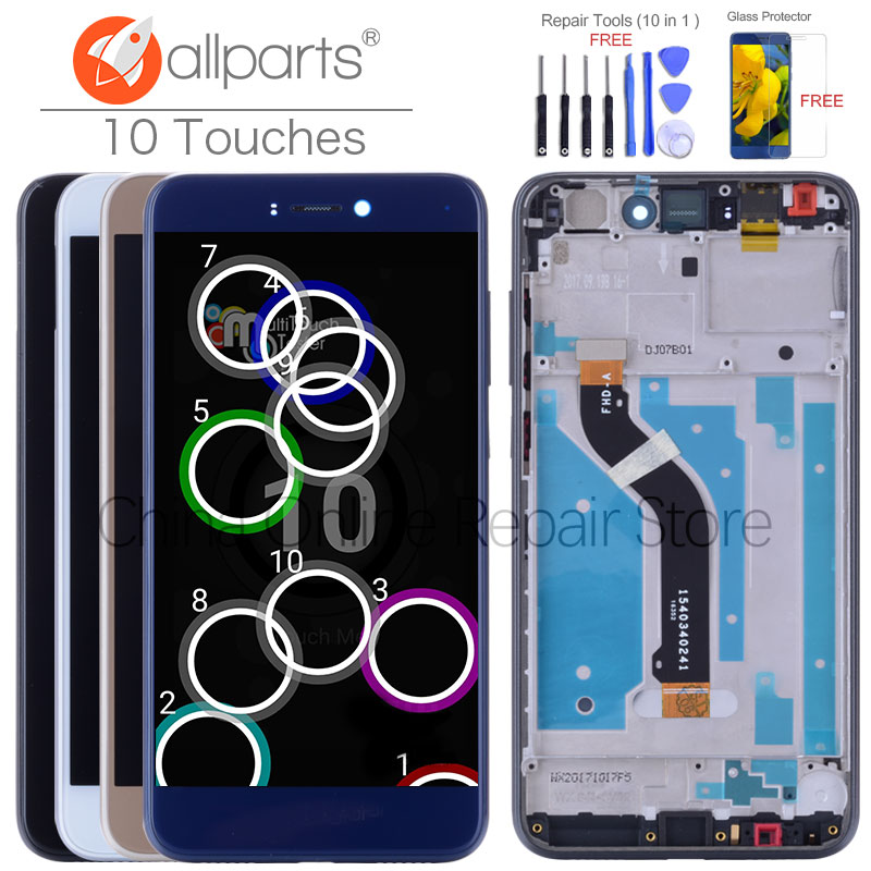 ALLPARTS Display For HUAWEI Honor 8 Lite LCD Display Touch Screen for Huawei Honor 8 Lite Display LCD Digitizer with frame