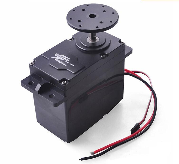 Free Shipping SUPER200 SUPER300 Super Speed Metal Gear Digital Servo 12V-24V 200KG 300kg for Robot Arm