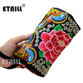 National Handmade Flower Embroidery Bags Boho Indian Embroidered Wallet Phone Famous Brand Logo Clutch Bag Purse Sac a Dos Femme