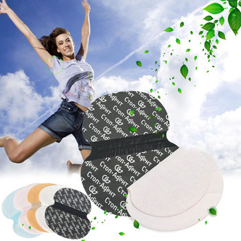 10pcs Disposable Armpits Sweat Pads Underarms Gaskets From Sweat Absorbing Pads Deodorants For Women Man Armpit Linings 1