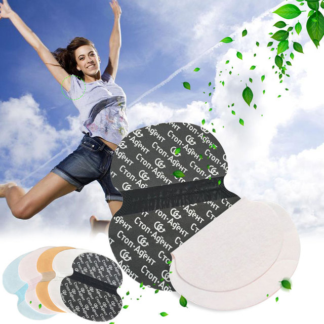 10pcs Disposable Armpits Sweat Pads Underarms Gaskets From Sweat Absorbing Pads Deodorants For Women Man Armpit Linings