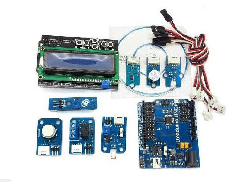 Uno R3 Development Board Kit For SCM Smart Car dccduino atmega328 development board for arduino uno r3 blue