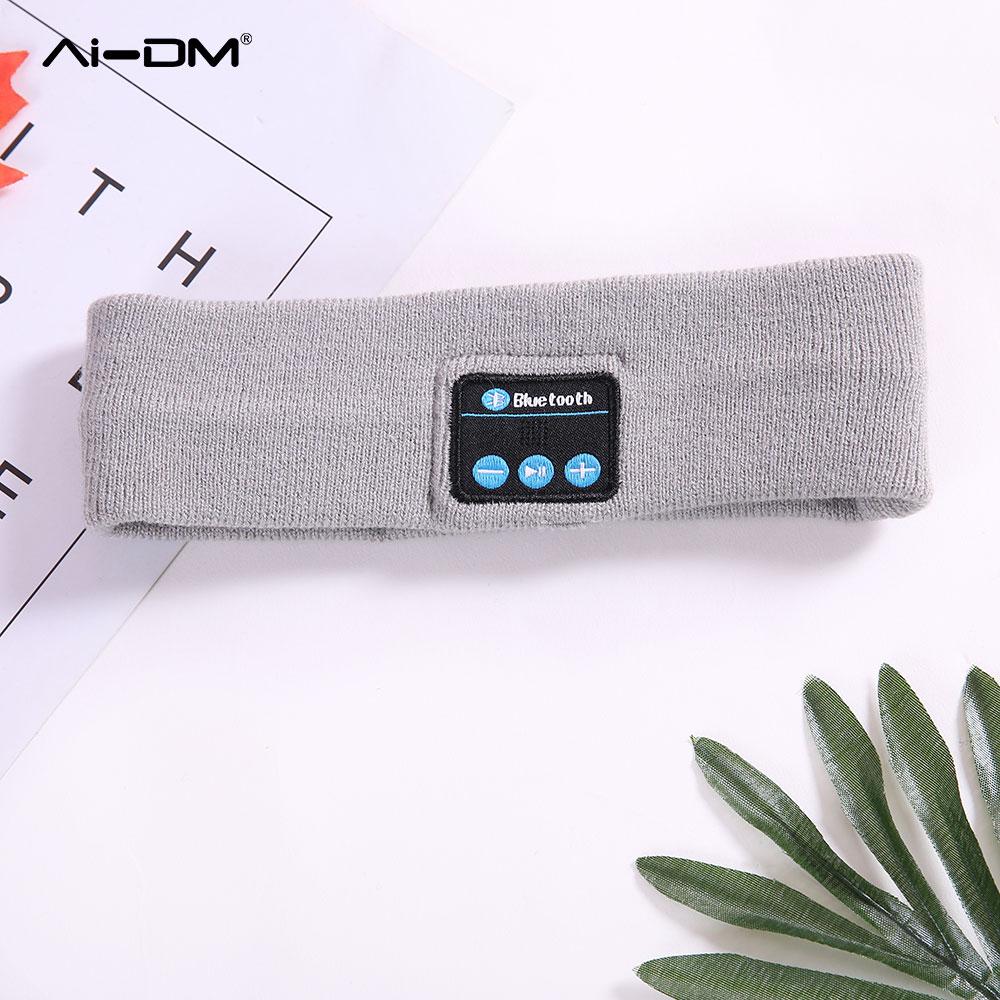 AIDM в Беспроводной Bluetooth Шапка-бини Кепки наушники Для мужчин Для женщин зимних видов спорта на открытом воздухе музыки гарнитуры для iPhone сма...