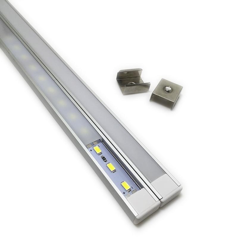 10 հատ 1 մետր ալյումինե պրոֆիլով - Լուսավորության պարագաներ - Լուսանկար 3