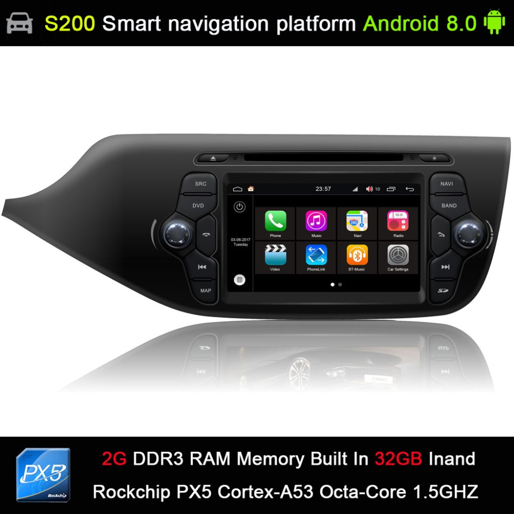car accessories Android 8.0 system PX5 Octa 8-Core CPU 2G Ram 32GB Rom Car DVD Radio GPS Navigation for KIA CEED 2013-2015 germany in stock android 8 0 car dvd 2 din autoradio for kia ceed 2013 2014 2015 2016 4gb ram 8 ips multimedia gps navigation