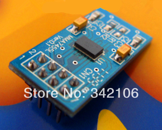 Free Shipping!!!  STM32 development board supporting / accelerometer / MMA7455L module