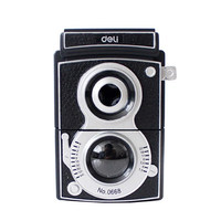 Free Shipping Deli 0668 Vintage Adjustable Hand Pencil Sharpener Old Camera Pencil Sharpener