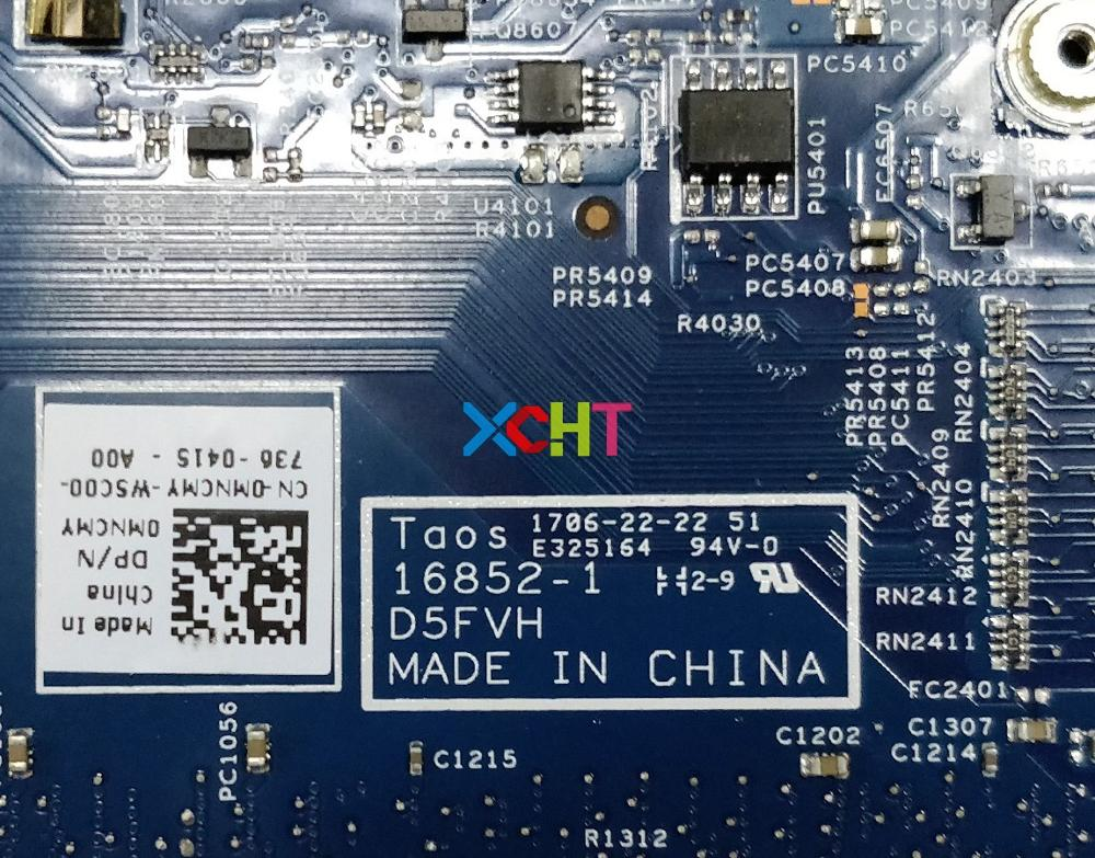 Image 5 - for Dell Latitude 3480 CN 0MNCMY 0MNCMY MNCMY w i5 6200U CPU 16852 1 D5FVH 216 0867071 GPU Laptop Motherboard Mainboard Tested-in Laptop Motherboard from Computer & Office