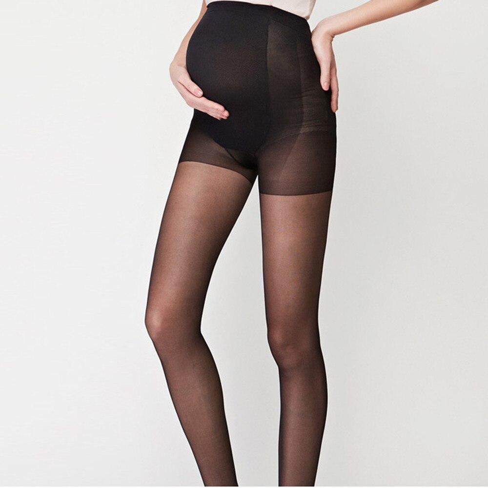 NEW Pregnant Women Stockings Thin Pantyhose Summer Solid Oversized Bottom Socks