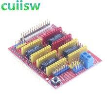 Щит с ЧПУ v3 гравировальный станок/A4988 драйвер Плата расширения для Arduino