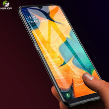 Keajor Glass For Samsung Galaxy A30 Tempered Full Cover Ultra Slim Screen Protector Film A50