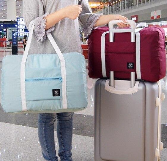 80c3c9ce230b US $4.99  2018 Hot Sale High Quality Travel Duffel Bag Foldable Lightweight  Waterproof Large Capacity Luggage Bag-in Travel Bags from Luggage & Bags ...