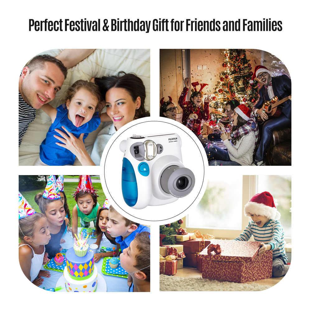 FUJIFILM Instax Kamera Mini7s Kamera Instan Film Kamera + 20 50 Lembar Fujifilm Instax Mini Film Mini 8 MINI 9 mini7s Film Hadiah