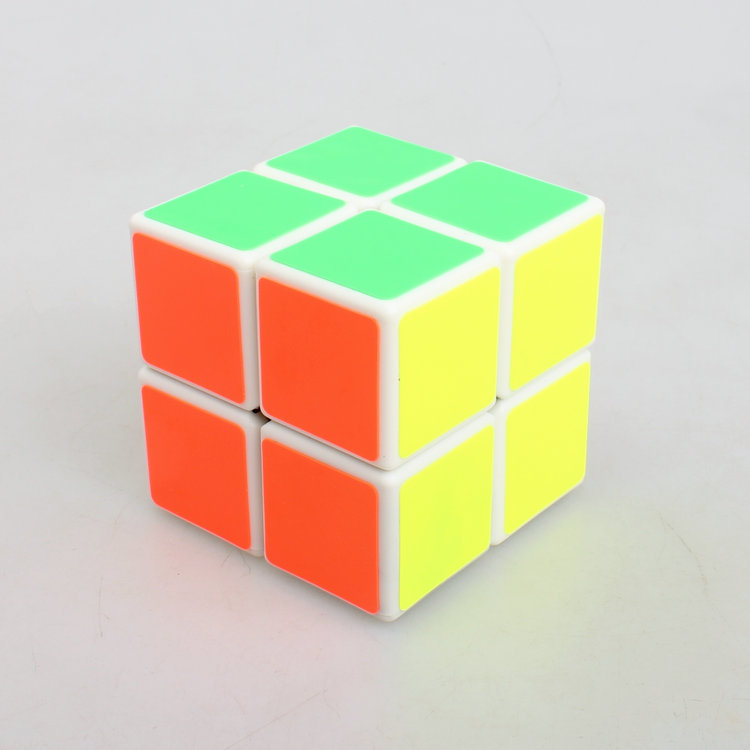 2 * 2 Magic Cube Professional Speed Cubo Square Puzzle Matte Sticker Twist Educational Toy for Children 1081