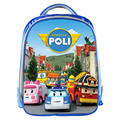 Cartoon Robocar Poli Kindergarten Bag Boys School Backpack Children School Bags Kids Best Gift Book Bag Backbag Mochila Infantil