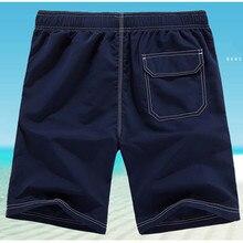 M-5XL Men Shorts Beach Board Shorts Men Quick Drying 2018 Summer Clothing Boardshorts Sandy Beach Shorts Drop Shipping