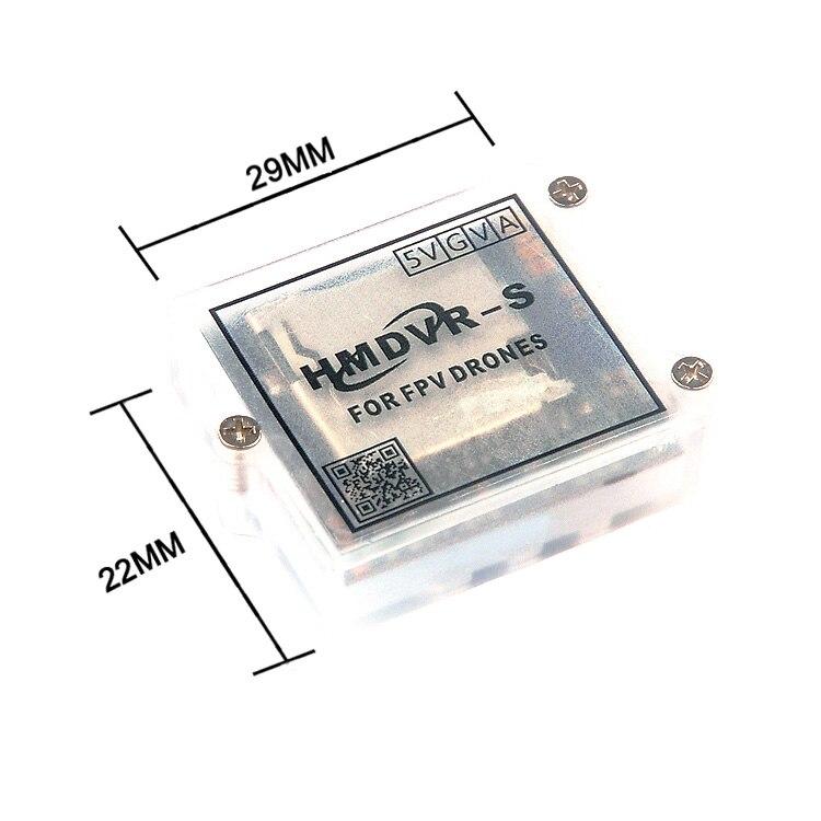 Micro Mini HMDVR-S DVR Video Recorder For FPV Monitor RC Quadcopter Drone Audio Video Transmitter DIY Parts