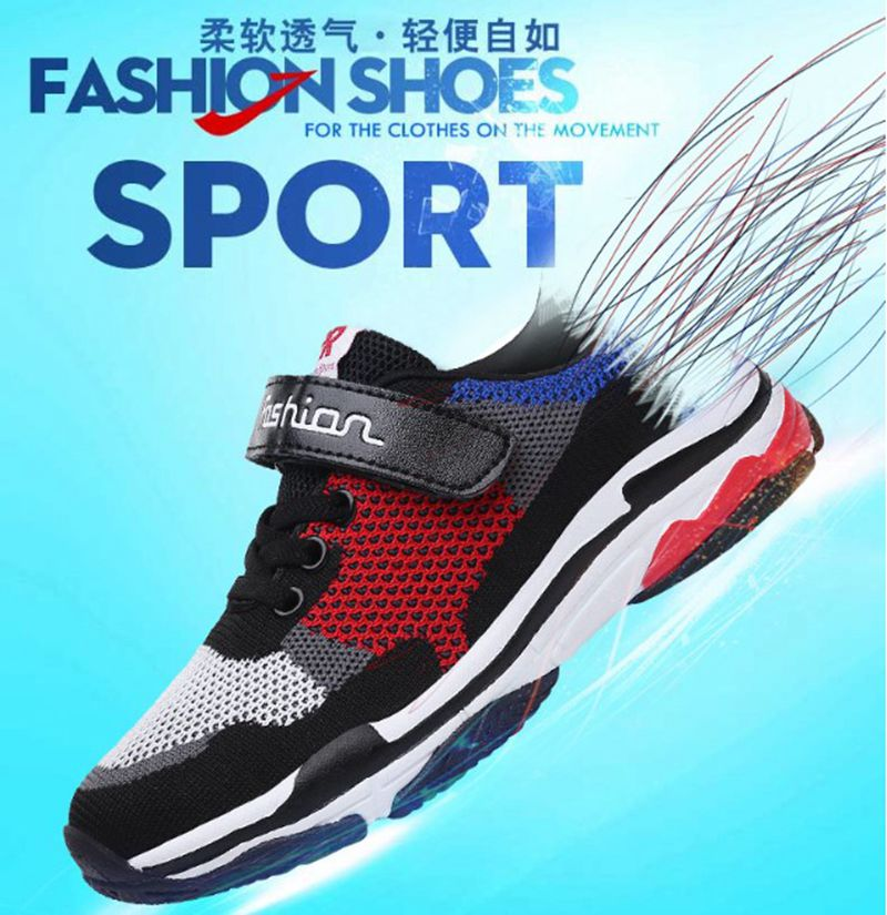 Hot!Kids Sport Shoes for Boys Girls Sneaker Shoes for Children Tennis Footwear Running Trainers Slip on Hobibear,Free shipping!