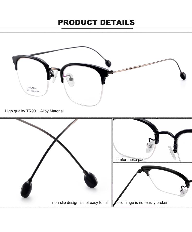 2017 Fashion New Women Eyeglasses Frames Classic optical ...