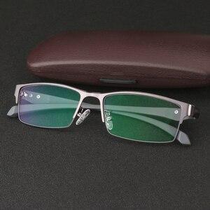 Image 5 - Business Anti Blue Ray Männer Frauen Computer Lesebrille UV Blau Licht Schutz Unisex Presbyopie Brillen für Leser dioper