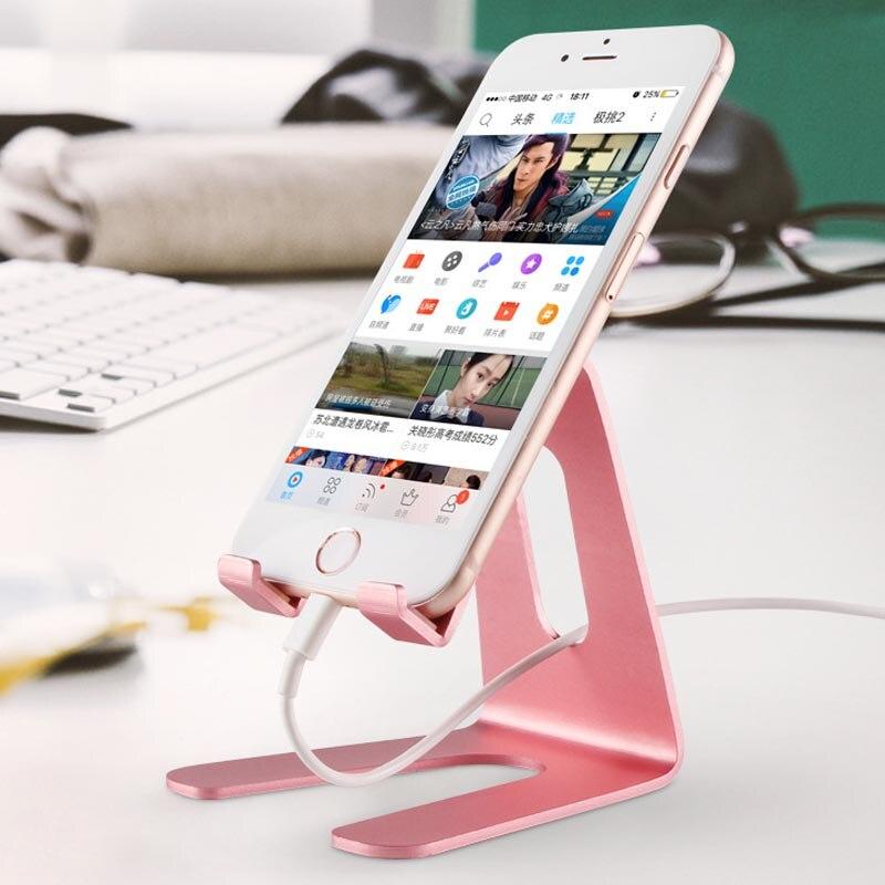 Aokin держатель телефона Универсальный гибкие настольная подставка для iPhone регистрации мобильного телефона Подставка для Samsung Планшеты держ…