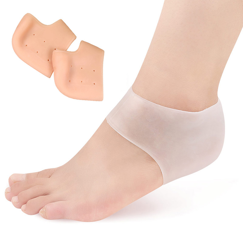 USHINE Soft Skin Care Prevvent Dry Skin Silicone Against Peeling Foot Protector For Ballet Yoga Gym Latin Dance  Shoes Woman