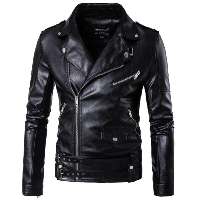 Grande taille 5XL hommes manteaux en cuir de haute qualité grande et grande Mans vêtements manteaux hommes en cuir pardessus Style européen B091