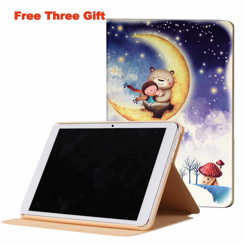 Fashion PU case for 9.6 inch HUAWEI MediaPad T3 10 AGS-L09 AGS-L03 AGS-W09 Tablet PC for HUAWEI MediaPad T3 Case with gifts fashion case for huawei mediapad t3 8 0 kob w09 kob l09 tablet pc for huawei mediapad t3 case cover