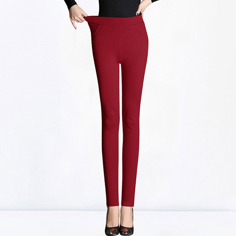 High Pantalon Pants Black