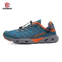 ALDOMOUR Hiking Shoes Men Outdoor Sapatilhas Mulher Climbing Sports Senderismo Scarpe Trekking Shoes Uomo Women Shoe