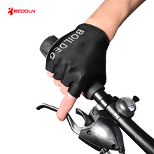цена на Summer Men Women Cycling Gloves Half Finger Shockproof MTB Road Bike Gloves Outdoor Bicycle Sports Elastic Gym Fitness Gloves
