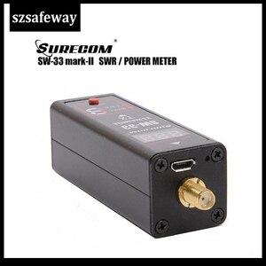 Image 2 - SW 33 Universal MINI Digital VHF/UHF Power & SWR Meter 125 525MHz SW 33 For Baofeng Walkie Talkie FM Two Way Radio