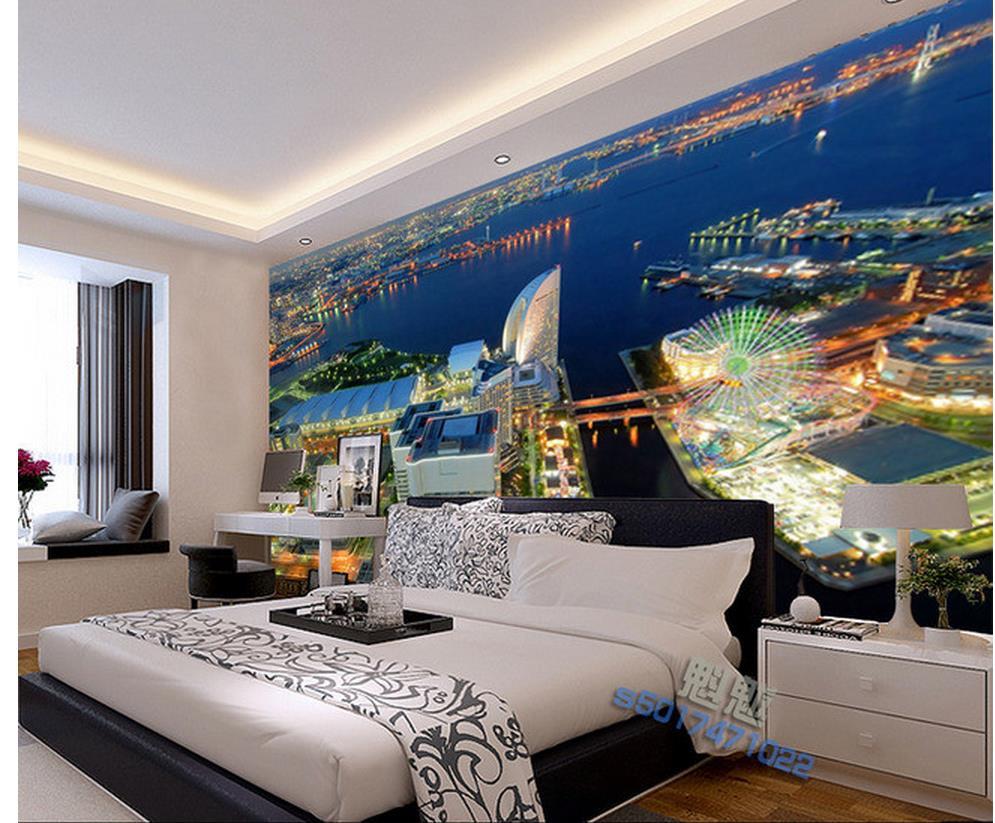 3d Wallpaper For Room City Beauty Frescoes Photo Wall