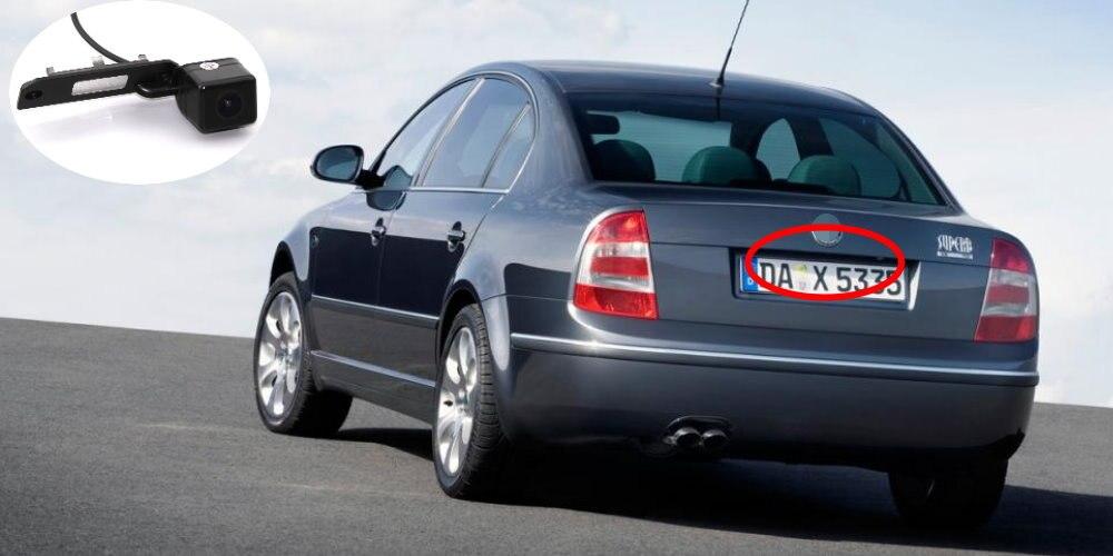 Liandlee Car Rear View Camera For Skoda Superb B5 3U MK1 2001~2008 Rearview Reverse Parking Backup Camera  Integrated SONY HD